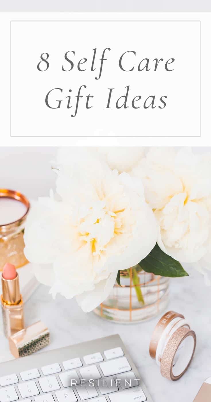 On days when you're feeling low or need a little pick-me-up or me time, you can devote some time to self care and pampering.  Here are 8 self care gift ideas. :)