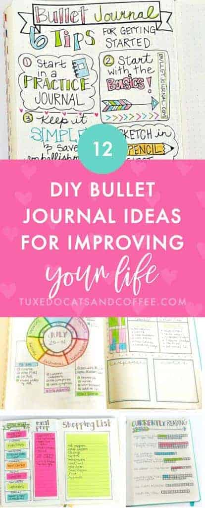 12+ Bullet Journal Ideas for Improving Your Life
