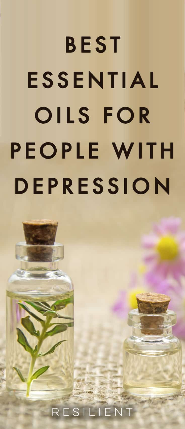 Have you ever tried using essential oils in your life? They can be a very soothing and uplifting natural addition to your life to enhance your mood and promote relaxation. Here are the 8 best essential oils for depression and anxiety.
