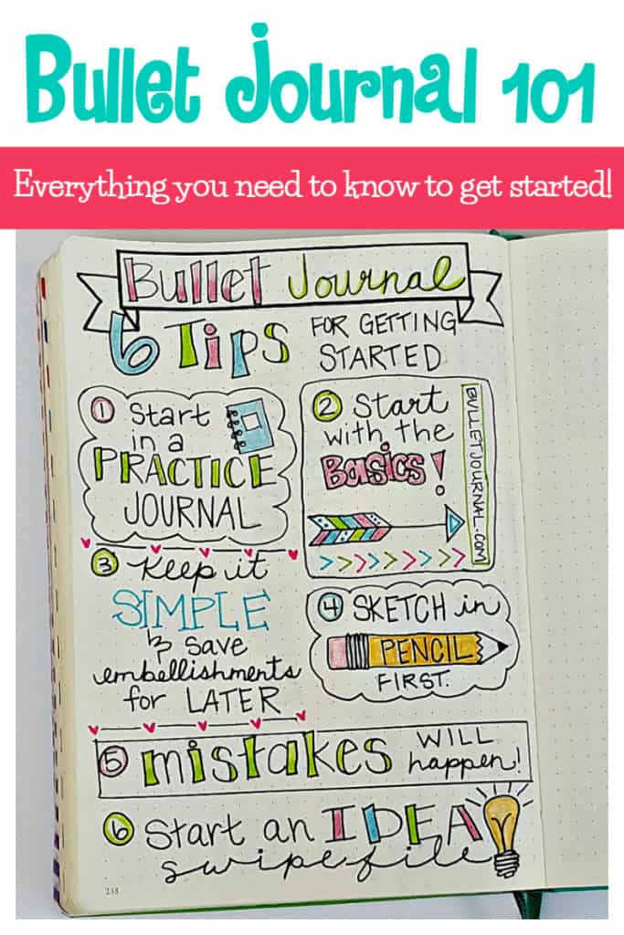 12 Bullet Journal Ideas For Improving Your Life Resilient