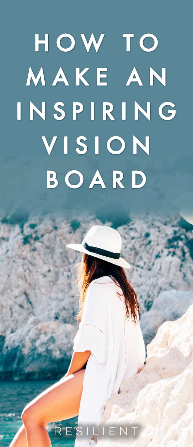 Have you ever made a vision board? I have! Vision boards are basically a very visual way of goal setting and dreaming about your future with the use of pictures and inspiring images. Here's how to create an inspiring and powerful vision board to improve your life and be happier.