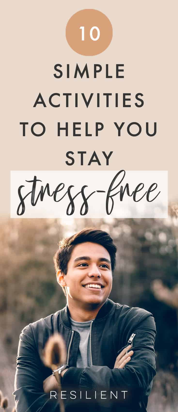 We face stress every day and it has somehow become a part of our lives. Dealing with stress is not easy and stress can sometimes lead to a number of complications. To avoid stress overload, here are 10 simple activities that will help you stay stress-free.