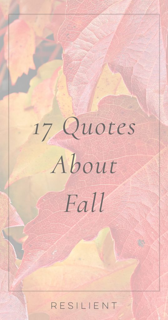 Quotes About Fall | Fall Quotes
