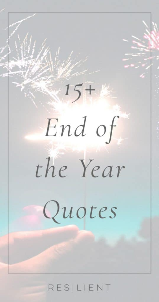 End of the Year Quotes | Year End Quotes