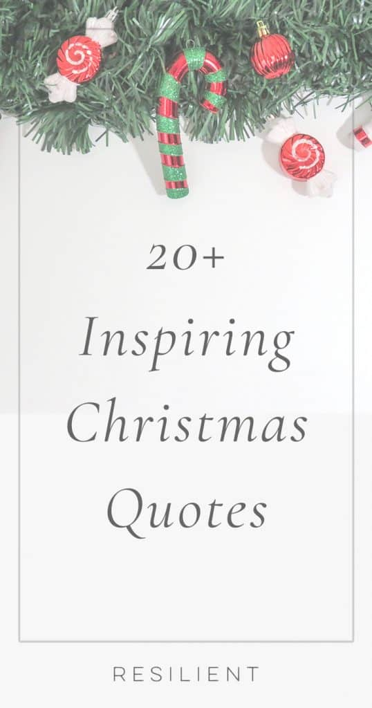 Inspirational Christmas Quotes | Inspiring Quotes for Christmas