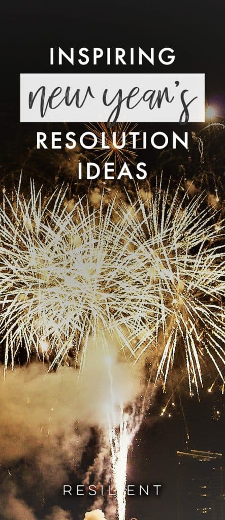 Are you planning on setting any New Year's resolutions or goals this January? If you need inspiration, here is a list of a bunch of New Year's resolution ideas. :)