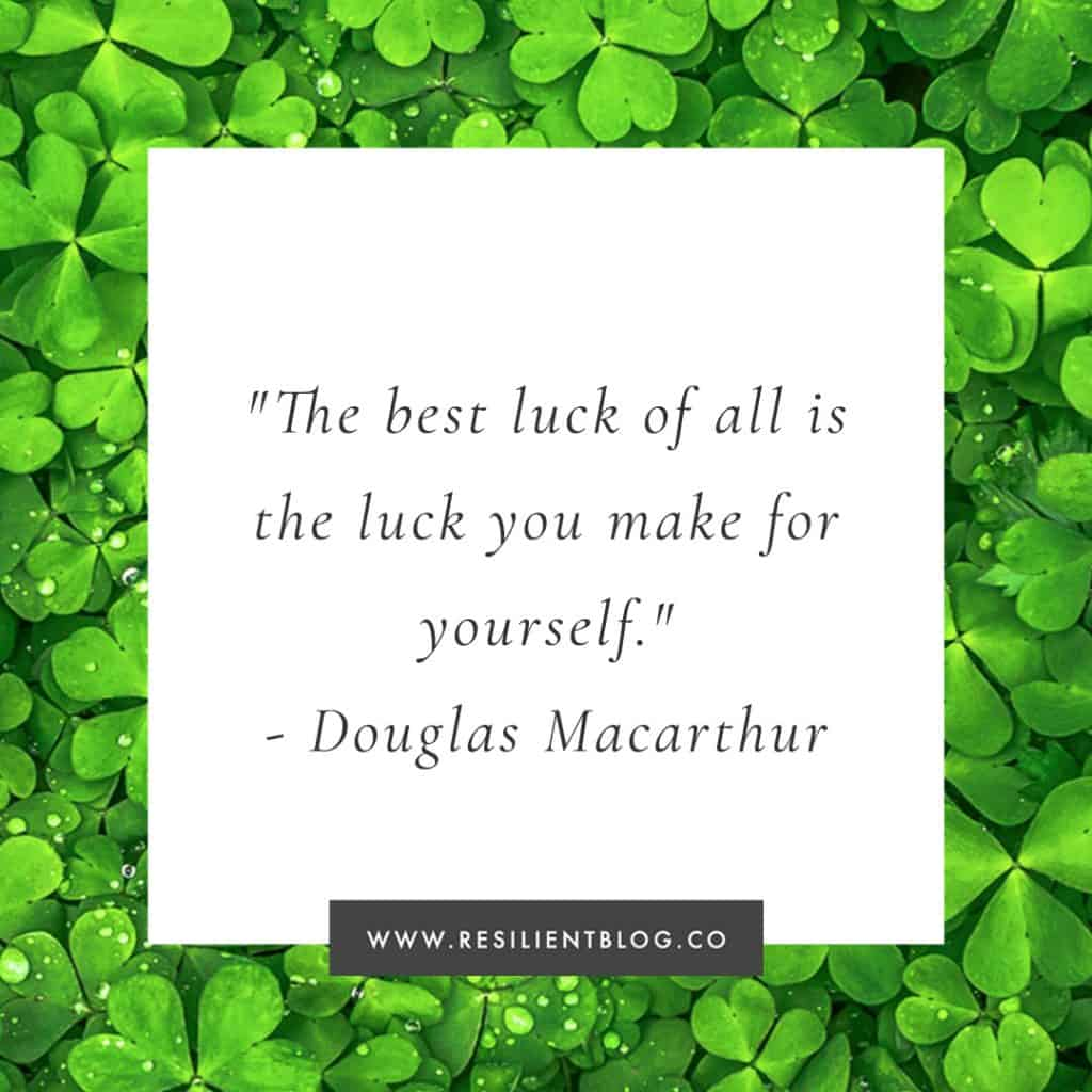 Luck Quotes | Quotes About Luck