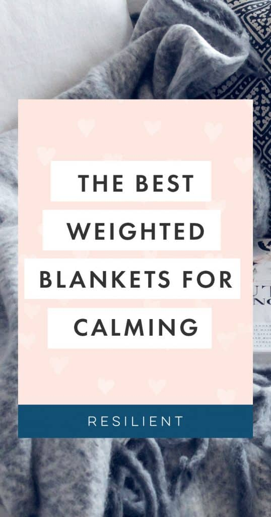 Weighted blankets are a cozy and comforting invention that simply adds a little extra weight to a blanket - usually with pellets or beads sewn in - in order to give you a reassuring squeeze. They're perfect for anxiety or stress relief, or for simply helping you get a better night's sleep.