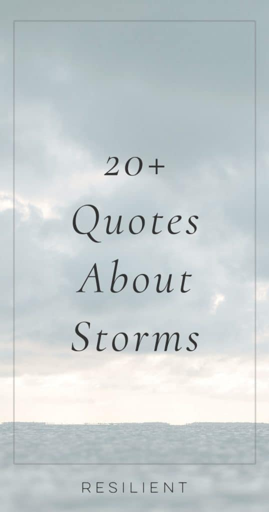 Quotes About Storms | Storm Quotes